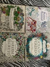 livros de colorir antiestresse