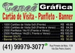 Cartão de Visita - Panfleto - Banner