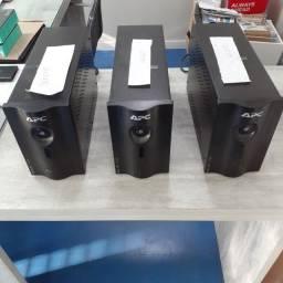 [Com defeito] 3 No-breaks APC (1500 VA, 1500VA, 1200 VA) é necessário trocar a bateria