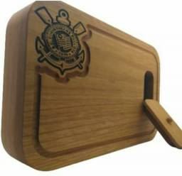 Tabuas churrasco personalizadas com gaveta