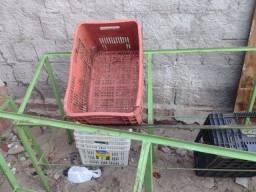 para colocar os os caixote de verdura