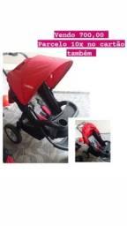 <br>Carrinho de bebê, bebe conforto e suporte para o carro.marca kiddo (parcelo 10x)