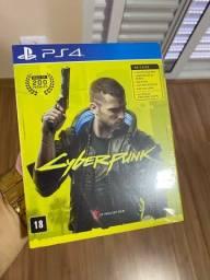 Cyberpunk 2077 PlayStation 4 Cd novo lacrado edição especial mapa adesivos brindes ps4