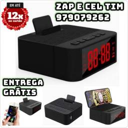 Caixa De Som Relógio Despertador Bluetooth Genai Bx10 Base