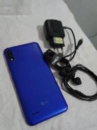 LG k22+ 64 Gb com todos acessórios