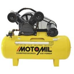 Super Promoção Compressor de Ar 20 Pés 200 Litros 5HP 140Lbs Trifásico