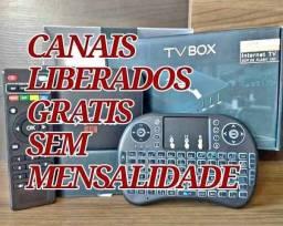 Tv Box MX9 configurado + Mini Teclado *parte do frete incluso
