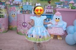 Vendo vestido galinha pintadinha 2 anos