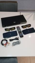 DVD e Blu-ray 3D Samsung (passo cartão)