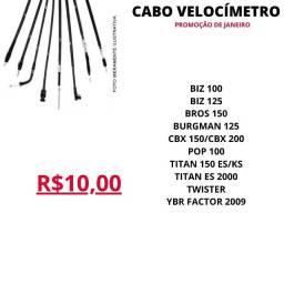 Cabo Velocimetro Promocao RBA Moto