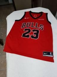 Camisa de basquete do Chicago Bulls P e M