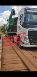 Colheitas e transportes