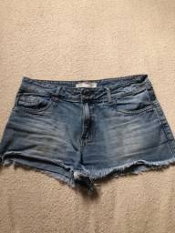 Bermuda jeans 38 usada