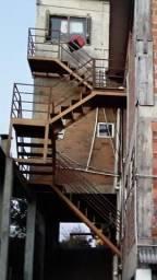 Escada metálica 5 lance
