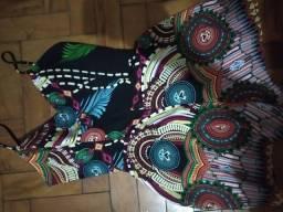 Macacão Colorido - Tamanho M