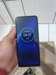 Motorola one action preto 128gb