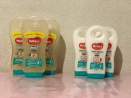 Shampoo e condicionador Huggies