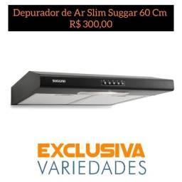 Depurador de Ar Slim Suggar 60 Cm Preto