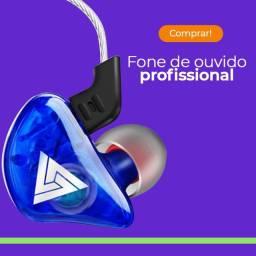 Fone profissional Qkz Ck5 Azul