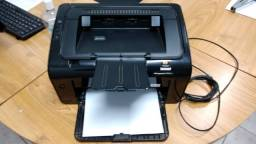 Impressora HP laser jet 1102 com tinta