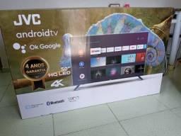 Televisão JVC 4K 50 polegadas