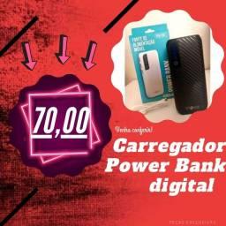 Carregador portátil Power Bank NOVO NA CAIXA