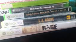Jogos Xbox.. Gears 4, Gears 3, L.A Noire, Dragon's Dogma, RAGE