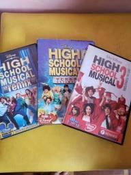 Coleção High School Musical Completa (Leia a Descrição)
