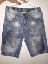 Bermuda jeans ótimo estado