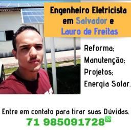 Eletricista em Itapuã