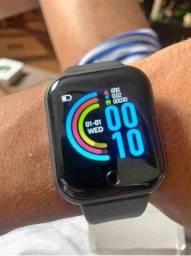 Relógio Inteligente Smartwatch D20 FOTO NA TELA _ Atualizado _ Frete Grátis