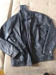 jaqueta masculina de napa