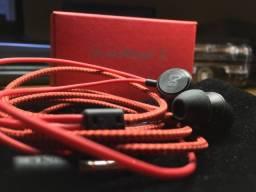 Fone De Ouvido LG Quadbeat 3 Vermelho Lacrado Na Caixa
