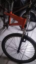 Bike Caloi de alumínio filé pra trabalhar