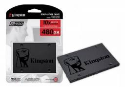 Ssd Kingston 480gb Sata 6gbs 2.5 Pol A400 500mbs (Apenas venda)