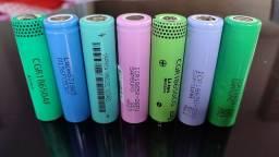 Baterias 18650 de íon de lítio 4.2v