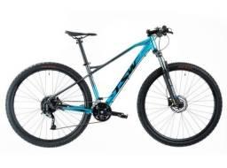 Bike Tsw Stamina (Azul/ cinza) Zerada