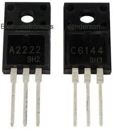 Transistores Originais (2SC6144) C6144 e (2SA2222) A2222 Reparo Epson