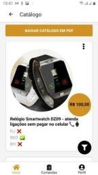 Relógio Smartwatch DZ09 -