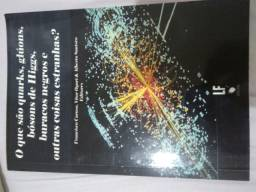 """Livro """"O que são quarks, gluons, bosons de Higgs, buracos negros ."""""""