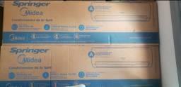 Ar condicionado split springer midea 22.000 BTU/h Quente e Frio 220V