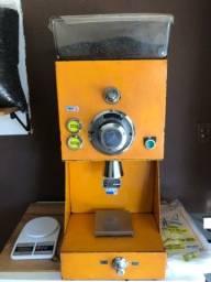 Máquina de moer café.