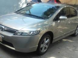 Honda Civic 1.8 Lxs 07/08 (Parcelo)
