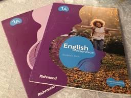 Livro didático de inglês - English experience Richmond