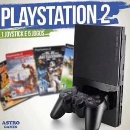 PS2 Semi novo 3 messes garantia