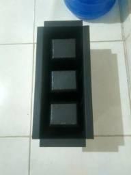 Forma de blocos vedação