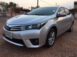Corolla Altis 2015, 8 AirBags, TV Digital, Interior Couro Beje, Banco Elétrico, Etc - 2015