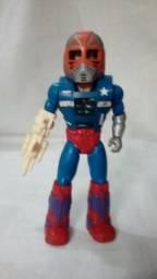 d18ee7f369 RARO - Boneco Coronel Strong - Acamas Toys - X-Changers- Anos 80 -