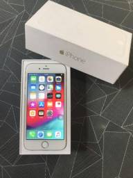 Vendo iPhone 6 16 GB Cor Gold semi novo sem Mara s