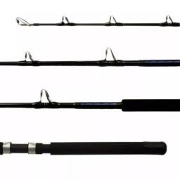 Vara p/ Pesca Pesada Lumis - Real Power 1,80m / 160lbs - Produto Novo